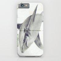 Postcard Shark iPhone 6 Slim Case