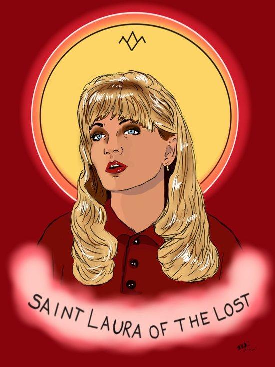 St. Laura Canvas Print