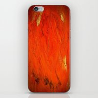Vintage Orange cases iPhone & iPod Skin