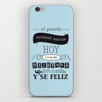 ¡Vive el presente! iPhone & iPod Skin