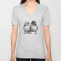Baby Chicks - Little Kiss G133 Unisex V-Neck
