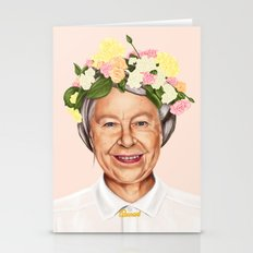 Hipstory - Queen Elizabeth Stationery Cards