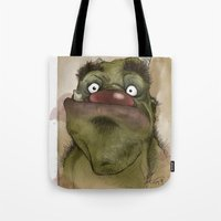 Ogre George Tote Bag