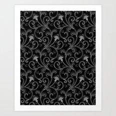 Black & White II Art Print