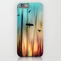 iPhone & iPod Case featuring Burning  by Dirk Wuestenhagen Imagery