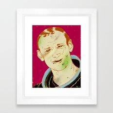 Buzz Aldrin Framed Art Print