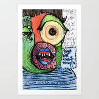 People Need Dramatic Examples Art Print