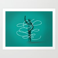 Composition 3 Art Print