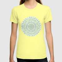 Doily Womens Fitted Tee Lemon SMALL
