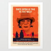Once Upon A Time In The West Poster: Harmonica Art Print