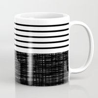 platno (black stripes) Mug
