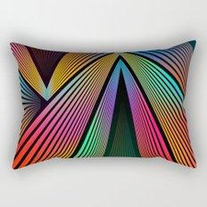 Crazy Rainbow Rectangular Pillow