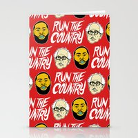 Run The Country Stationery Cards