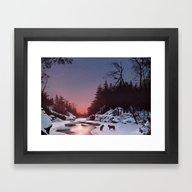 Winter Wolves Framed Art Print