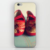Two red shoes iPhone & iPod Skin