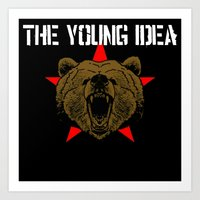 The Young Idea - Grizzly… Art Print