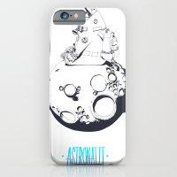 Astronaut On The Moon. iPhone 6 Slim Case