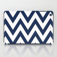 Navy Chevron iPad Case
