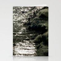 Dark Wave Stationery Cards