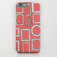 Picture Frames Coral iPhone 6 Slim Case