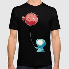 Balloon SMALL Mens Fitted Tee Black
