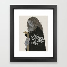 Alan Moore Framed Art Print