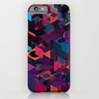 iPhone & iPod Case featuring Panelscape: colours from Circles  by ⊙ Paolo Tonon