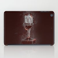 DARK MICROPHONE iPad Case