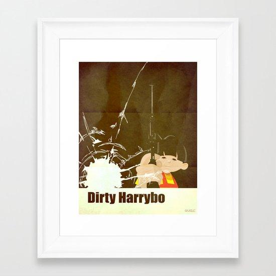 coupling up (accouplés) Dirty Haribo Framed Art Print
