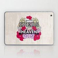 Good Ideas go to Heaven Laptop & iPad Skin