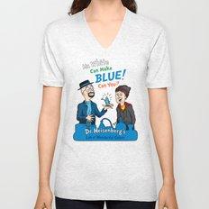 Mr. White Can Make Blue! Unisex V-Neck