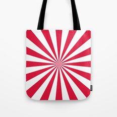Starburst (Crimson/White) Tote Bag