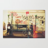 The Formerly Mean Streets of Williamsburg Canvas Print