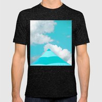 Circus Blues Mens Fitted Tee Tri-Black SMALL