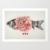 To Bloom Not Bleed III Art Print