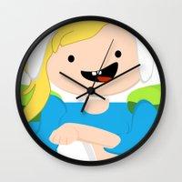 FIONNA THE HUMAN Wall Clock