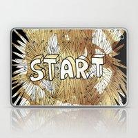 Start. Laptop & iPad Skin