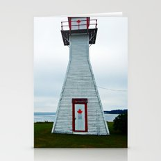 Lighthouse and Inlet Stationery Cards