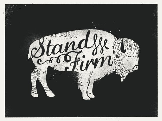 Stand Firm Canvas Print