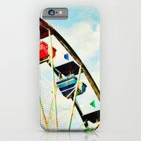 iPhone & iPod Case featuring round and round we go by Beverly LeFevre