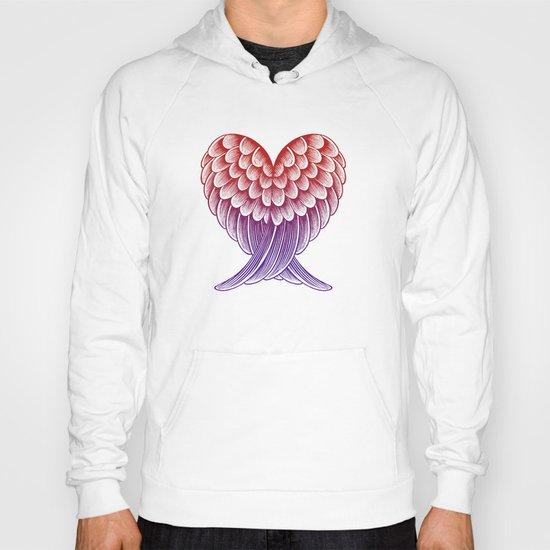 Heart Wings [Pink Version] Hoody