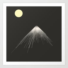 Mountains Peak ( Version… Art Print