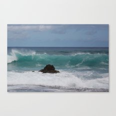 Big Waves Canvas Print