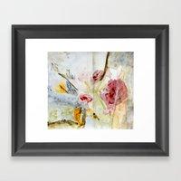 fragmented view Framed Art Print