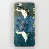 Enjoy The Quack iPhone & iPod Skin