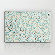 Berry Branches – Turqu… Laptop & iPad Skin