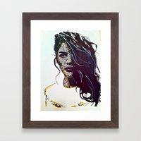 Focused Framed Art Print