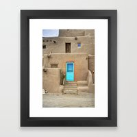 Pueblo No. 1 Framed Art Print