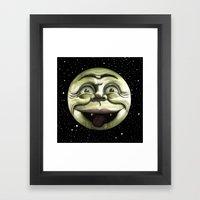 Rad Moon Rising Framed Art Print