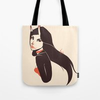 Pretty Lady I Saw On The… Tote Bag